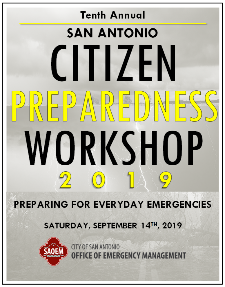 Cover page for the 10th Annual Citizen Preparedness Workshop